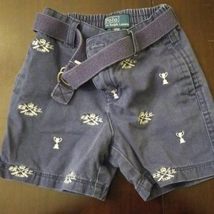 Polo Boys Shorts Sz 18M